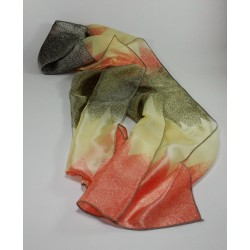 Pañuelos Seda Rosa Marron