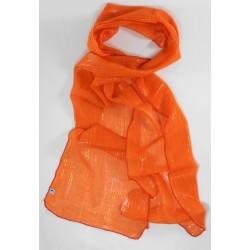 Pañuelo Lino naranja